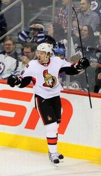 THIRD STAR: #9 Milan Michalek, Ottawa Senators