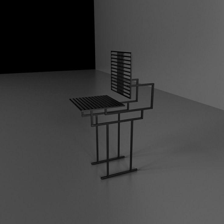 Chair, krzesło, Kraina ES, hoker #chair, #armchair, #ironchair, #krzesło, #fotel