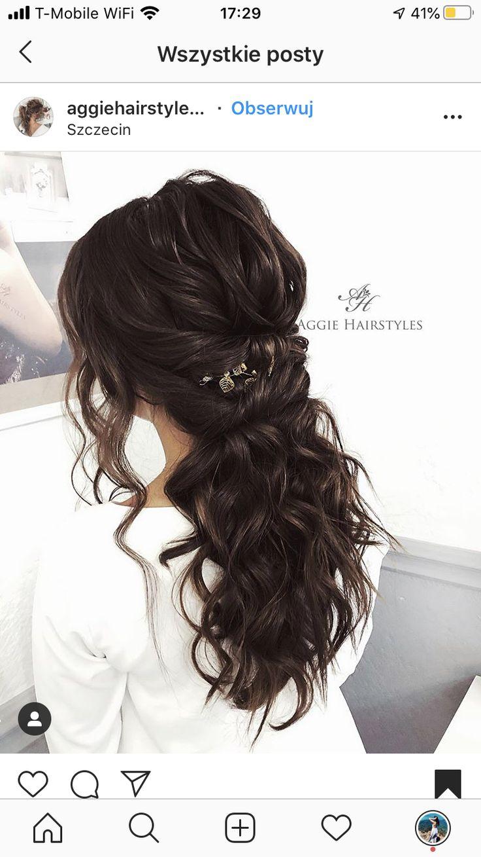 Wlosy ślub in 2020 Hair, Beauty, Hair styles