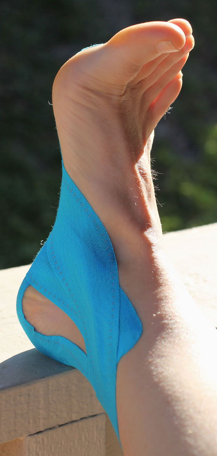 How to Recover from Plantar Fasciitis Heel and Arch Pain Using KT Tape Pro #Kinesio