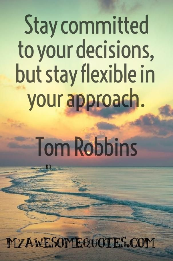 Tom Robbins Quote About Commitment