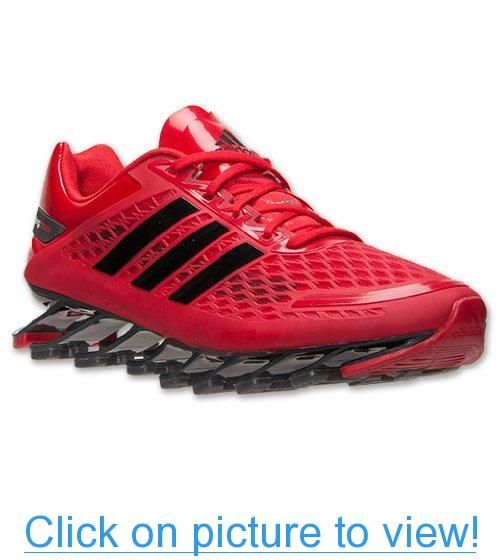 Men\u0027s Adidas Springblade Razor Running Shoes NEW Red Authentic Sneakers 12