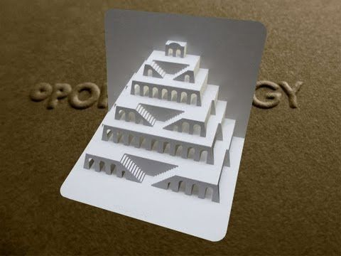 1000 images about arquitectura en papel pop up on for Ingrid siliakus templates