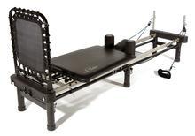 Aero Pilates machine and cardio rebounder--my fave form of exercise.