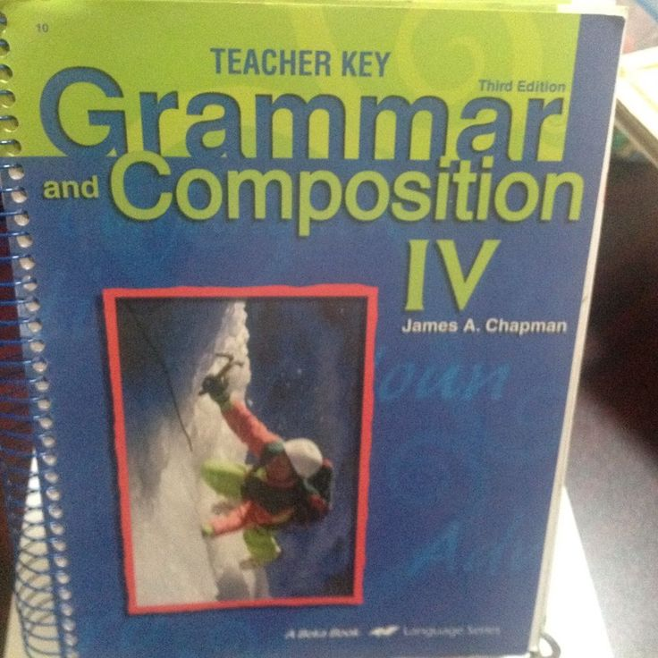 A BEKA GRAMMAR, COMPOSITION IV, TEACHER KEY, THIRD EDITION, SPIRAL BOUND #TeacherManual