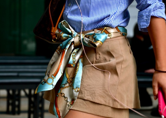 Scarf Belt and more fun ways to wear a scarf
