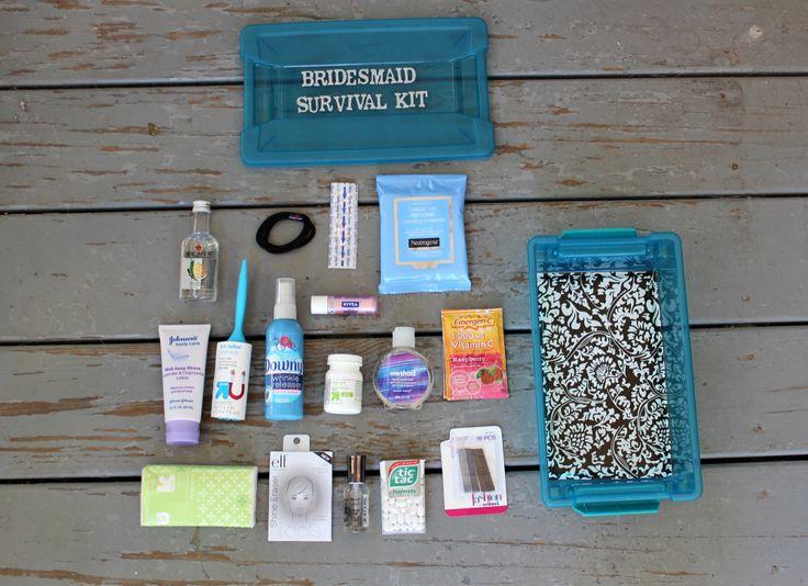 DIY Bridesmaid Survival Kit | DIY & Crafts | Pinterest