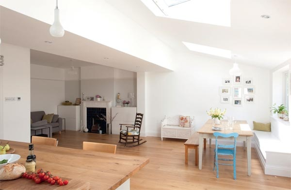 Home extension into beautiful spacious kitchen 3