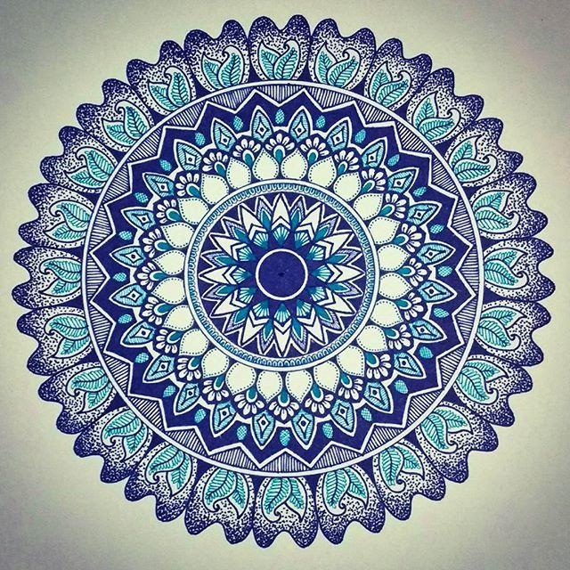 Blue!  This is how I spent my day today. . . . #mandala #mandalas #mandalaart #mandalapassion #mandalaplanet #mandalalove #mandalastyle #mandaladesign #mandalalovers #mandalaslovers #zentangle #zentangleart #doodles #doodle #doodling #art #artgram #mycreation #pattern #passion #blue #zenartfeatures #zenart #zcfeatureweek4
