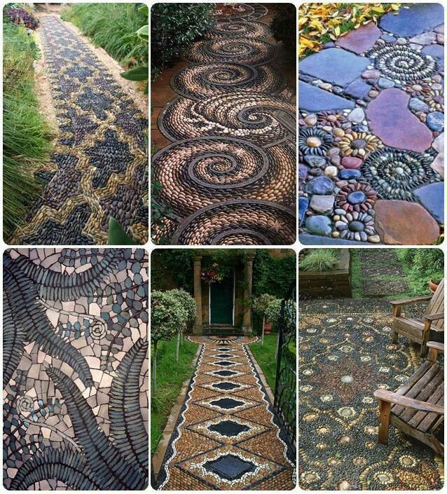 Walkways And Paths: I Want Beautiful Creative Walkways