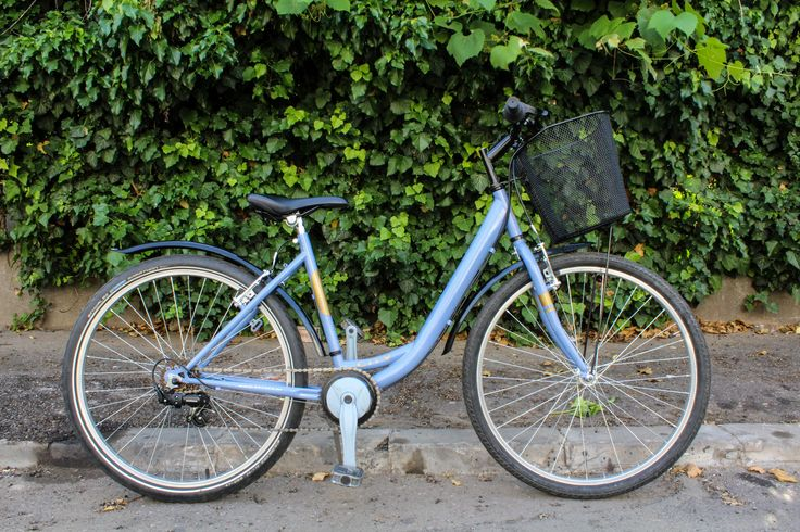 This city bicycle was a surprise present made by friends throw Facebook.