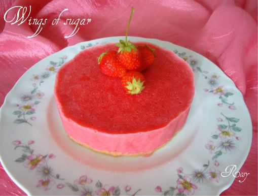 torta yogurt e fragola
