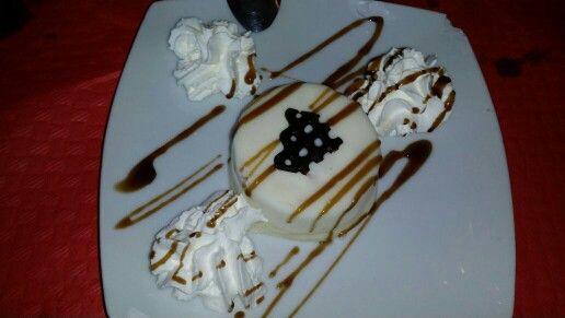 Tarta de keso con chocolate