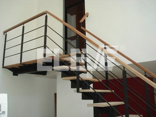 17 best ideas about barandas para escaleras on pinterest - Escaleras de madera para interiores ...