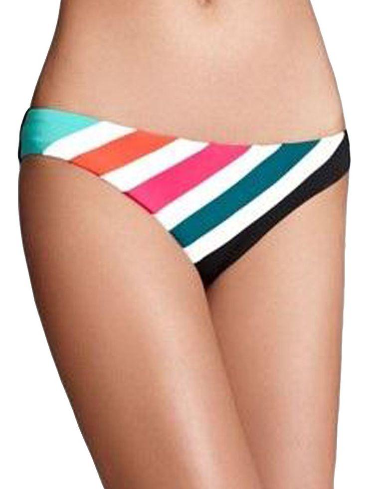 Rebecca Virtue Hot Off Press Chevron Bikini Bottom