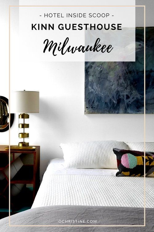 This luxe micro hotel is the first of its kind in #Milwaukee. [click for more photos]  #sponsored