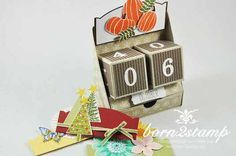 STAMPIN' UP! ewiger Kalender perpetual calendar Anleitung tutorial