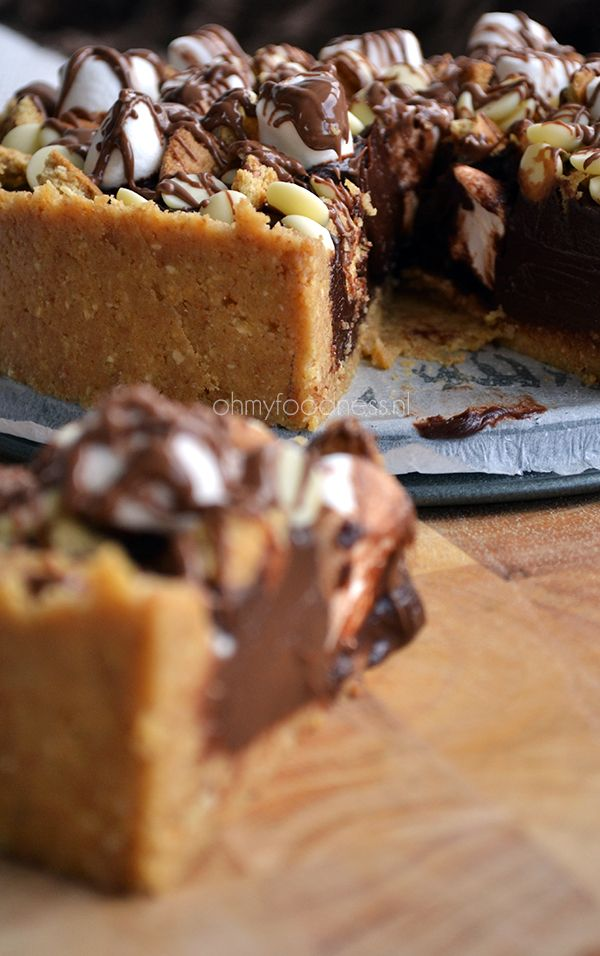 Rocky Road pie, can it be more delicious?