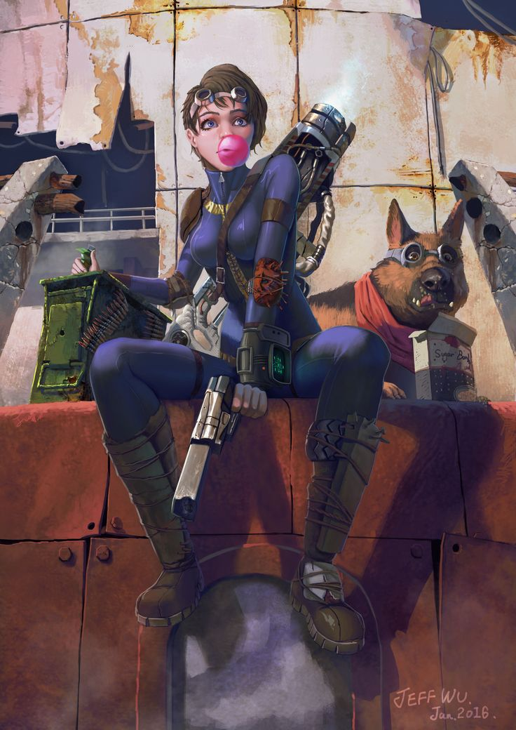 FALLOUT GIRL by JefWu