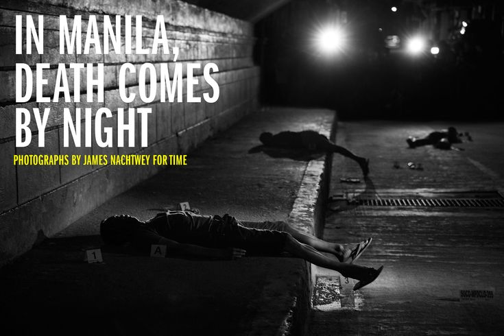 In Manila, Death Comes by Night