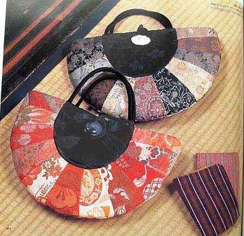 Japanese patchwork bag tutorial
