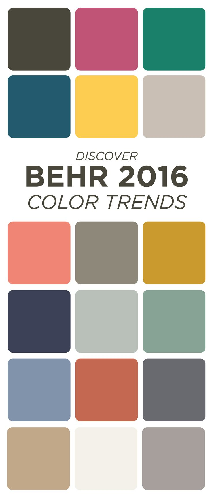 1000 images about behr 2016 color trends on pinterest for Best neutral yellow paint colors