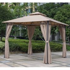 Bordner 9.8 Ft. W x 9.8 Ft. D Aluminum Portable Gazebo