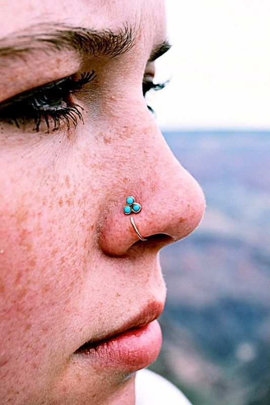 Little Charming Your Nose Piercing.