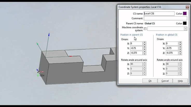How to Create a New Coordinate System - SprutCAM 9 The steps of creating a new coordinate system using G55 in SprutCAM www.sprutcam.com This is essential when you are doing multi-side machining and need more than one setup in a single program.