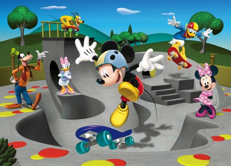 "Disney Mickey Mouse ""Skaterboy"" Poster XXL"