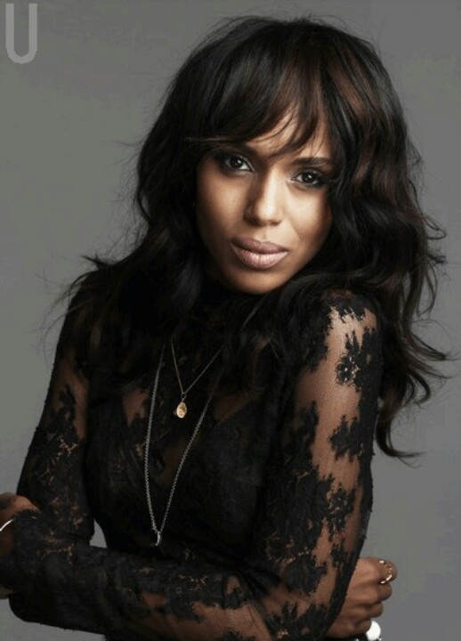 Kerry Washington. I want to try this hair style