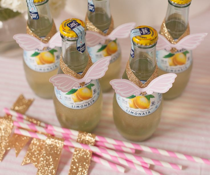 Project Nursery - Angel Wings Birthday Party Decor