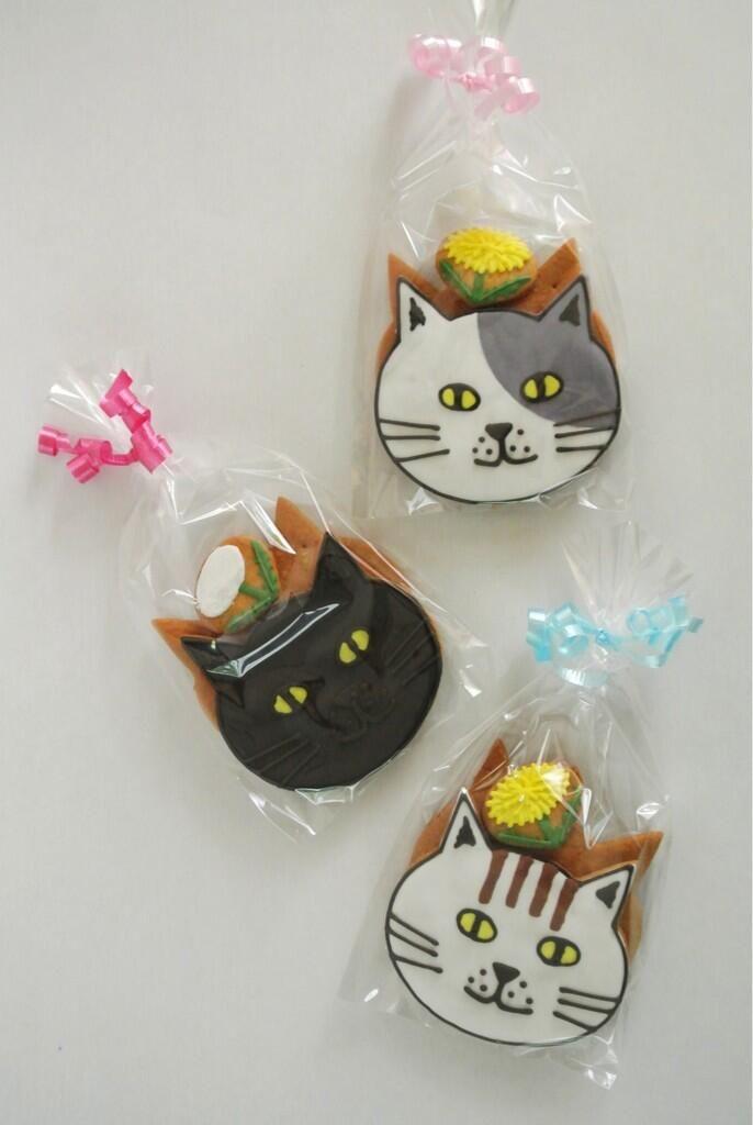 Japanese cat cookies ★ More on #cats - Get Ozzi Cat Magazine here >> http://OzziCat.com.au ★