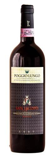 Morellino di Scansano Riserva - Tuscan red wine aged in oak barrels from Sangiovese grape