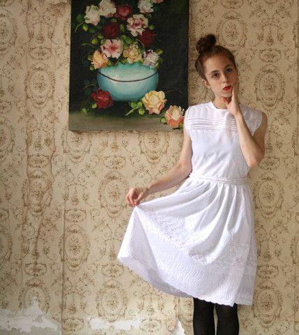 Oh!Sullivan All White Country Dress