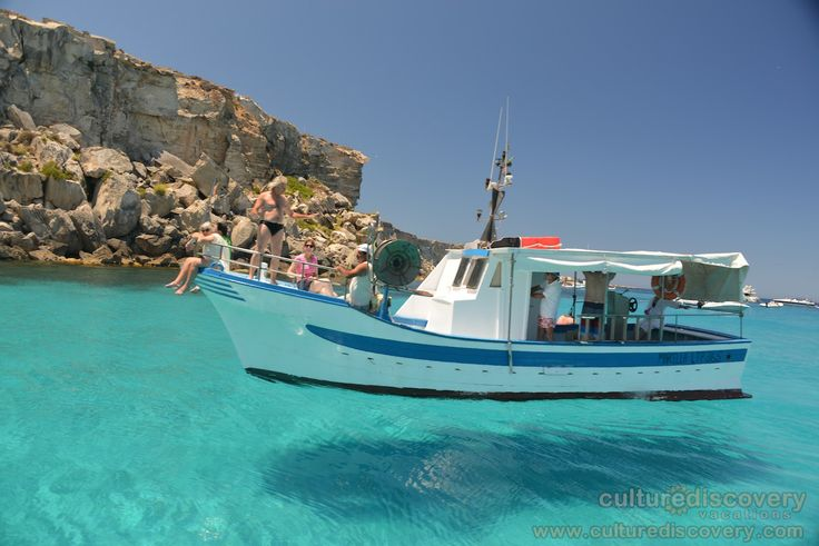 "Possibly the clearest water we have ever seen.... in Sicily - One of the excursions on Culture Discovery Vacations' ""Cooking & Adventure on the Islands of Sicily"" cooking, culinary and wine tours in Italy. http://www.culturediscovery.com/sicily-italy-cooking-vacation/cooking-a-adventure-on-the-islands-of-sicily.html"