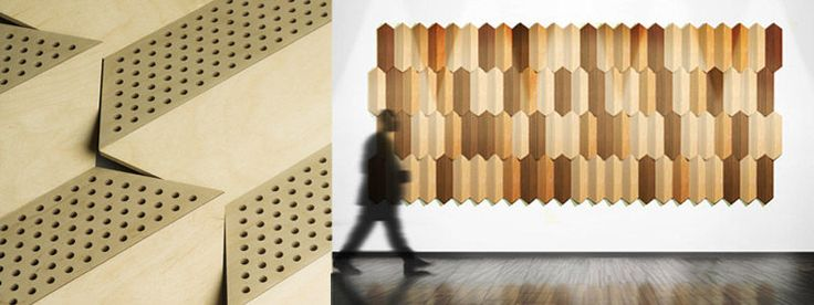 Wood Sound Absorption Panel Tessellate Friends Of Wilson