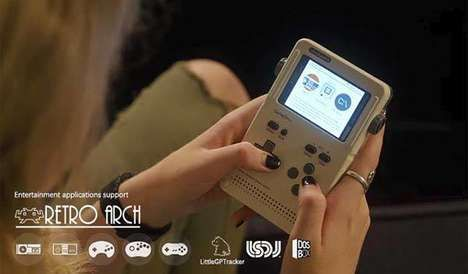 Modular Portable Game Consoles : GameShell