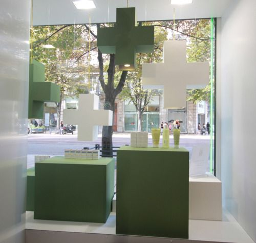 Pharmacie du Caducée-Grenoble- Farmacy Display windows by Buildings and Love-Grenoble-Paris