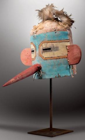 TOTSA - Masque Heaume tocha - Hummingbird Kachina