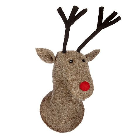 Buy Scandi-chic Reindeer Head Online at johnlewis.com