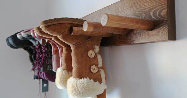 Ana White | Build a Wall Boot Rack Plans | Free and Easy DIY Project and Furniture Plans | See more about Boot Rack, Build A Wall and Ana White.