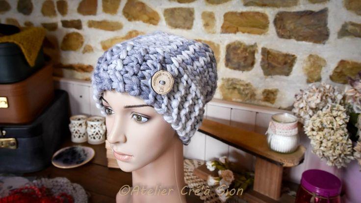 Le bonnet/snood 2 en 1