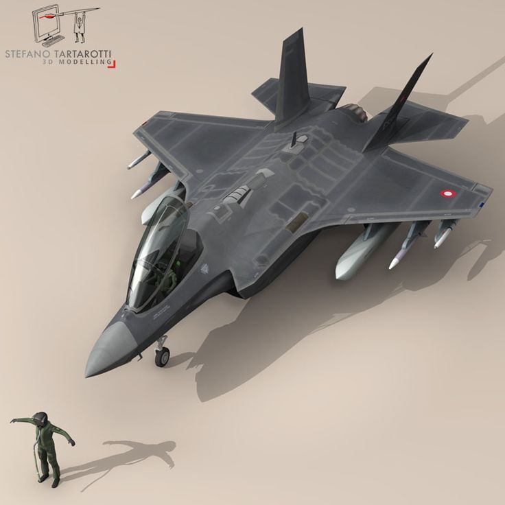 F 35 A Royal Danish Air Force 3D Model- NOTE: the pilot character is not rigged -no bones-  External pylons and weapons could be removed.  Made in cinema4d R12. .fbx format is good for importing in 3dstudio max and Maya.   - F35A: Polygons 30501 Vertices 31998  - Pilot character: Polygons 5012 Vertices 5105  This model is only artistic representation of the subject matter. I made it for a flight magazine illustration. If you like the model please rate it.    The F-35A is the conventional…