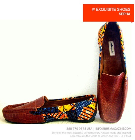 African Fashion print shoes for men fashion