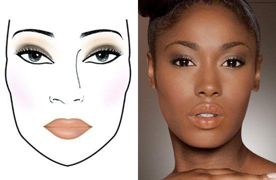 Make-up peau noire et métissée : un look parfait et zéro défaut