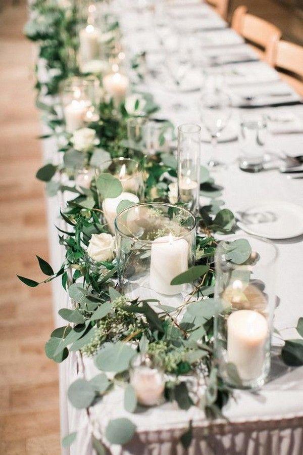 25 Budget Friendly Simple Wedding Centerpiece Ideas With Candles Emmalovesweddings Budget Friendly Wedding Centerpieces Simple Wedding Centerpieces Greenery Wedding Centerpieces