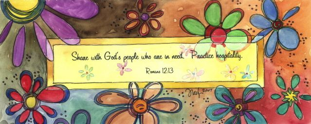 """Romans  12:13  