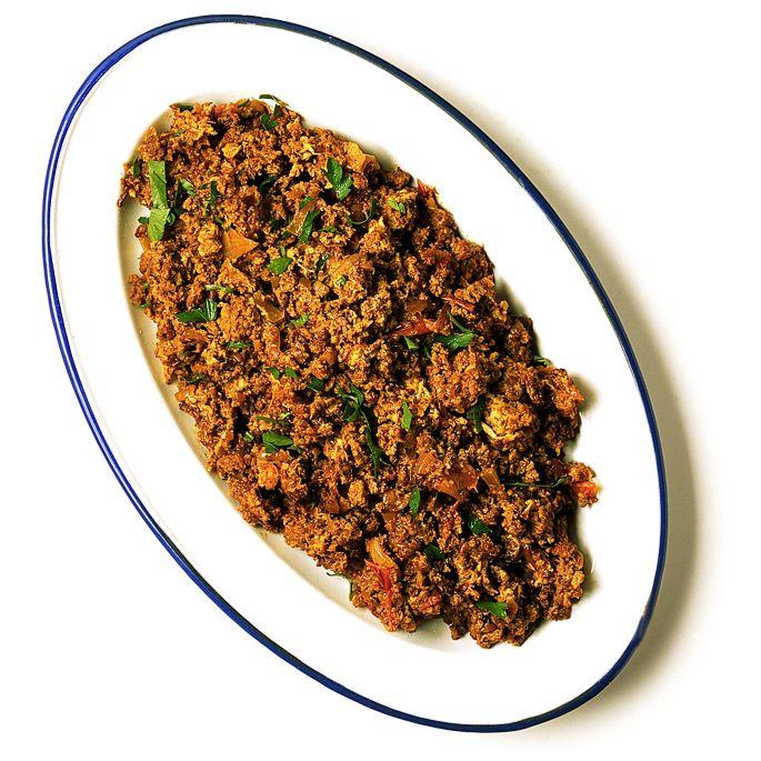 Köttfärsröra med chili och ingefära | Recept.nu