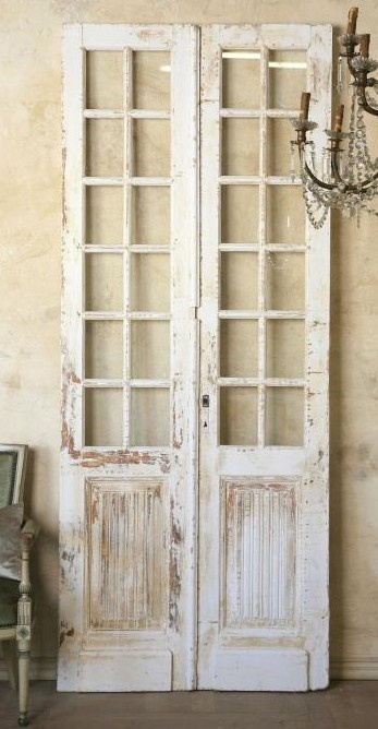 Now I can act like I live in a mediterranean home with these doors